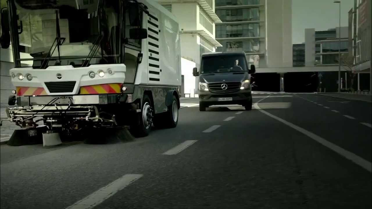Mercedes Sprinter - Blind Spot Assist