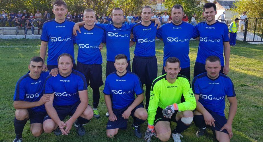 Echipa fotbal Unirea Rosia Sponsor SDG Auto