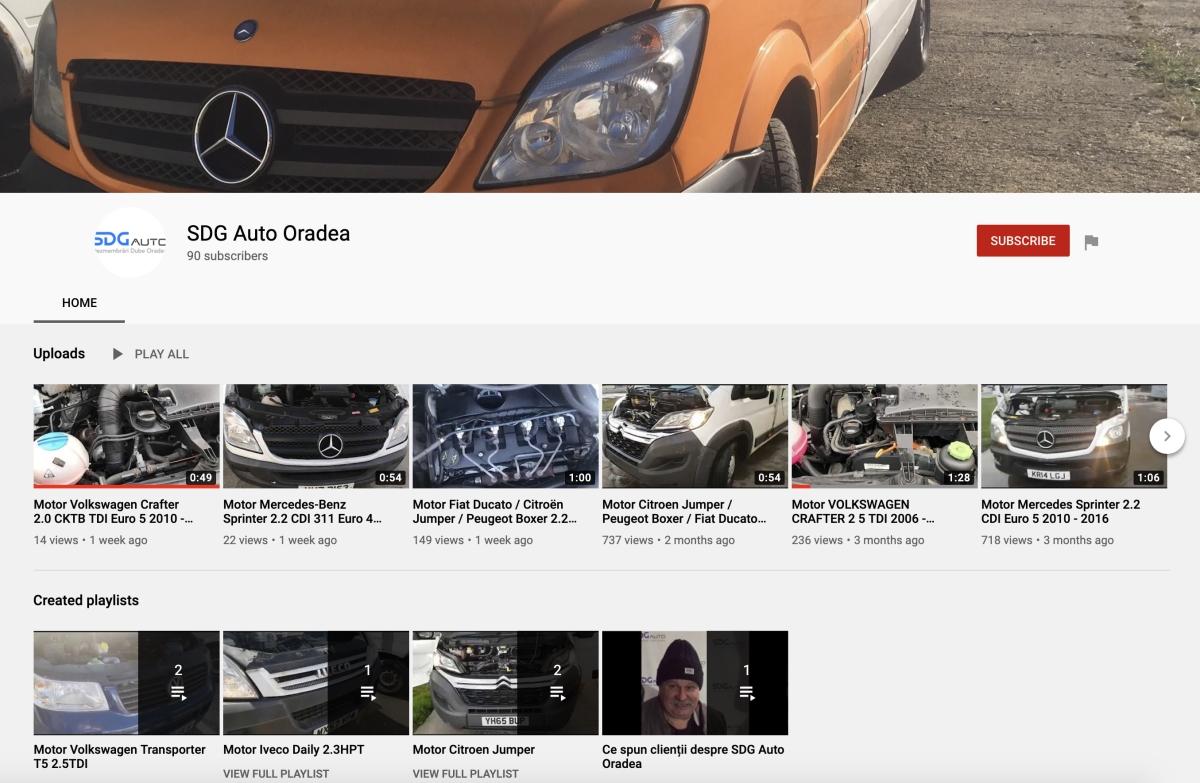 SDG Auto YouTube Subscribe